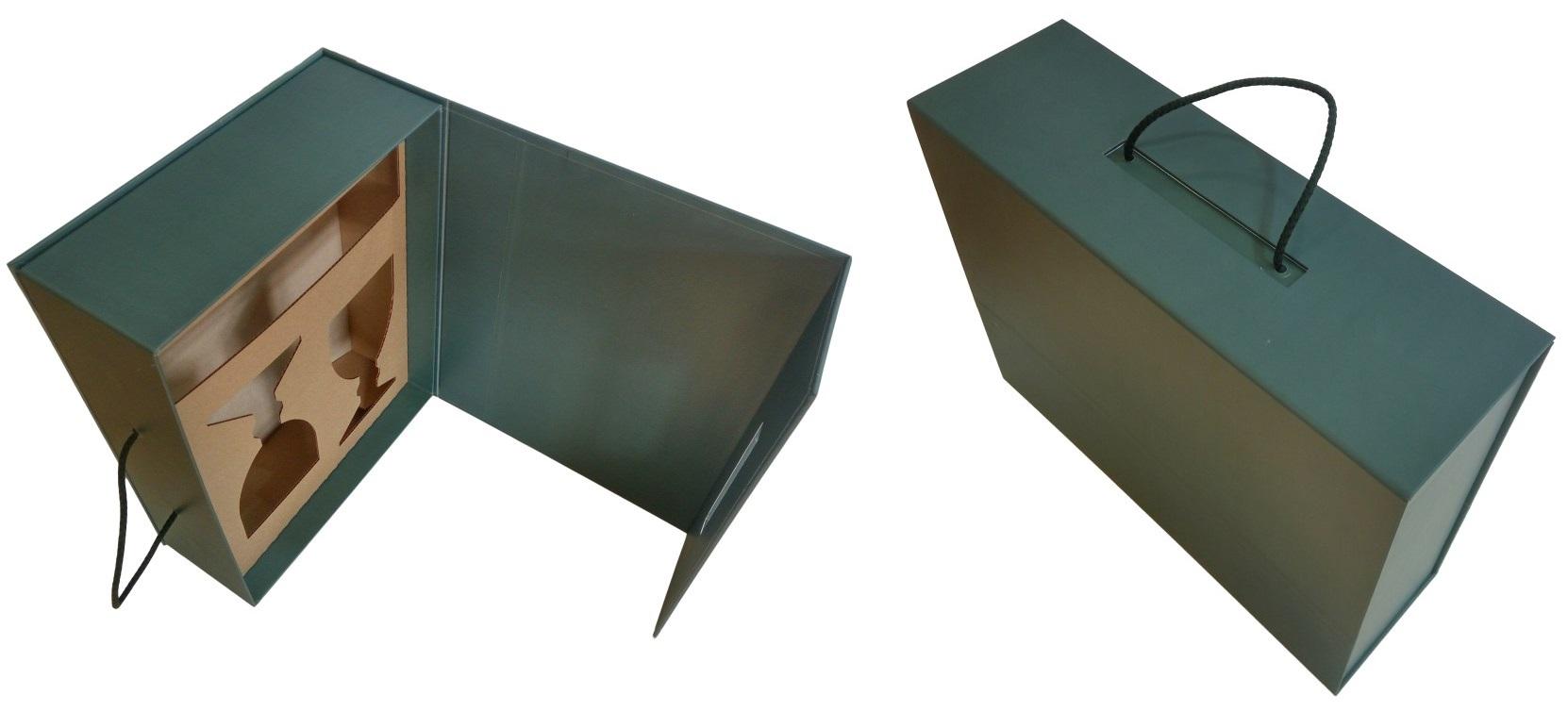 Коробка-чемодан с ложементом