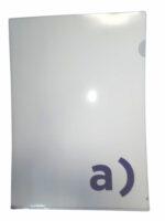 Папка уголок с логотипом