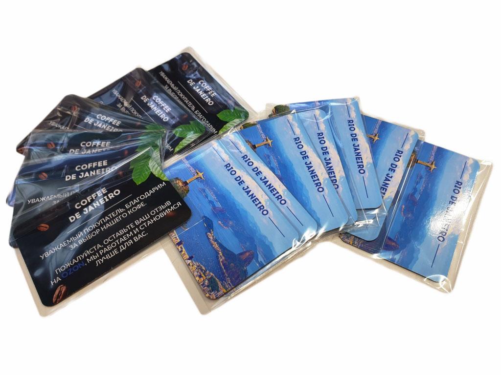 Сувенирные виниловые магниты в упаковке