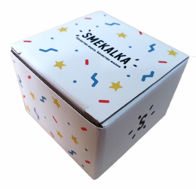 Коробка самосборная с нанесением