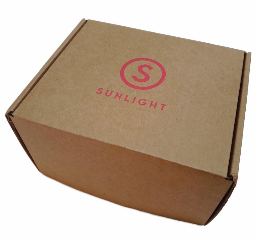 Коробка самосборная с логотипом