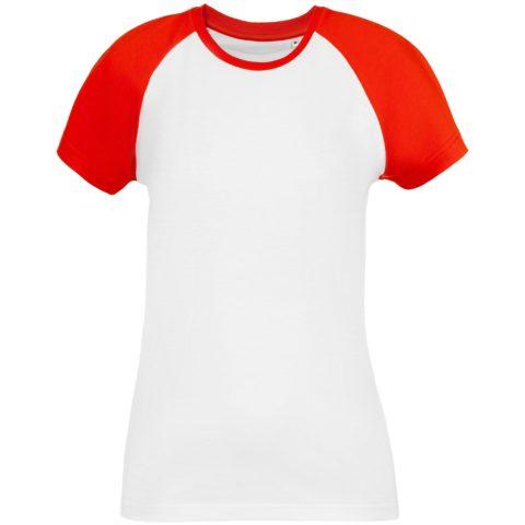 Футболка женская T-bolka Bicolor Lady