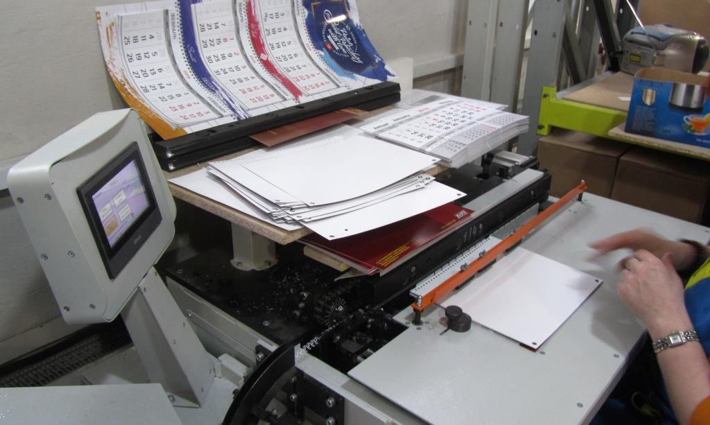 Сборка календарей Трио автоматическая